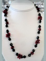 20 to 22 inch Necklace with Earrings